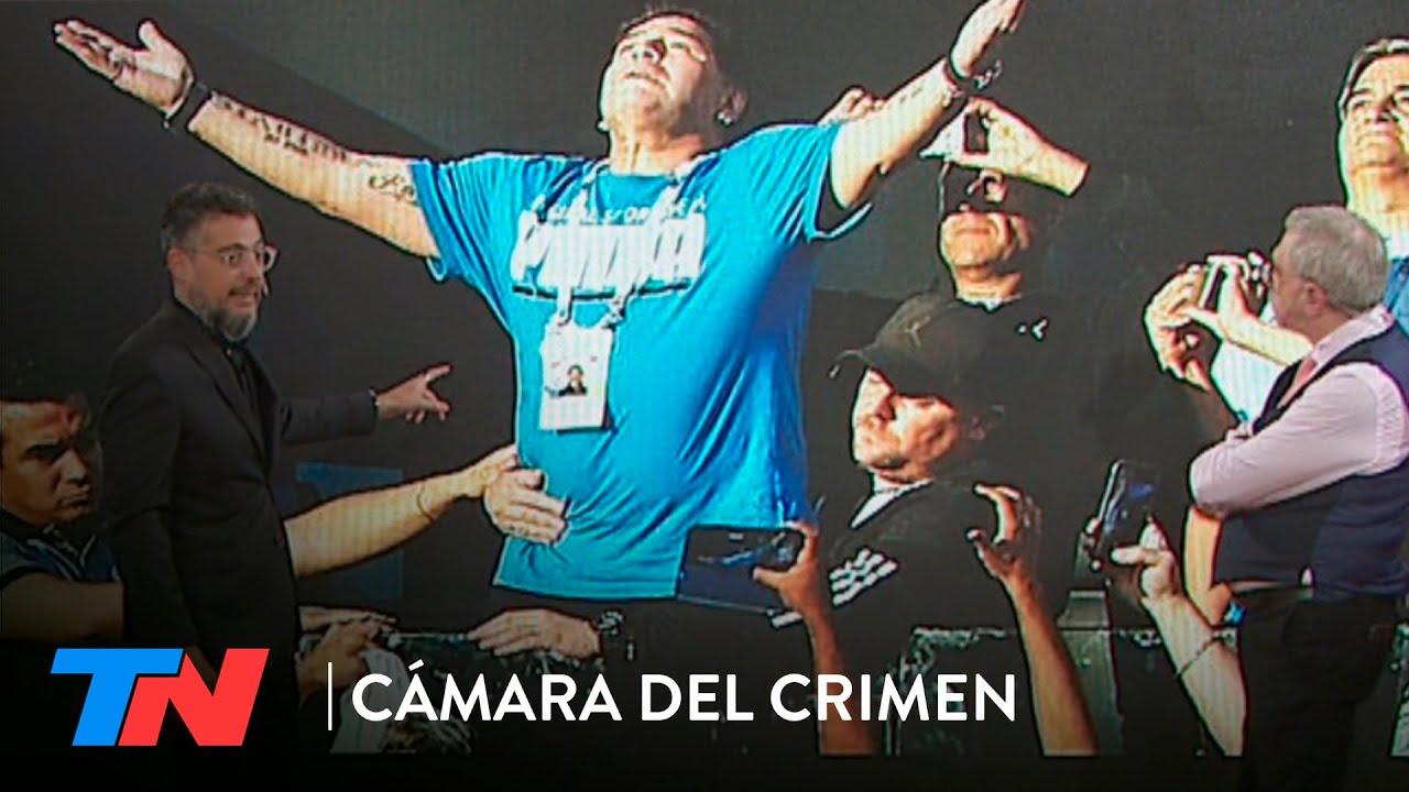 Maradona, la investigación: habanos, cervezas y pastillas antes de la operación ¿Quién lo cuidaba?