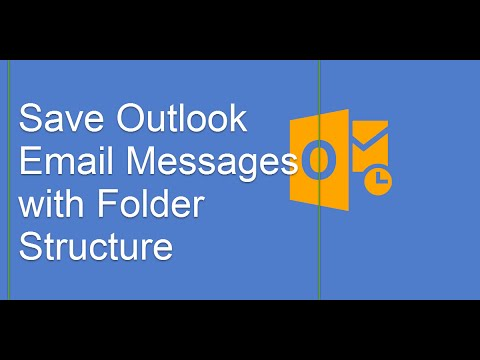 Save Outlook email messages with folder structure
