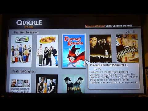 Canal Crackle en ROKU TV digital Panamá América Latina