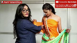 how to wear saree without stitch blouse/ No sewing. no cutting. / ব্লাউজগুলি এবং শাড়ি পরুন