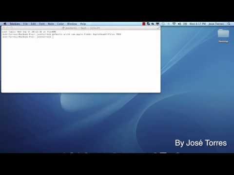HOW TO show hidden files in Mac