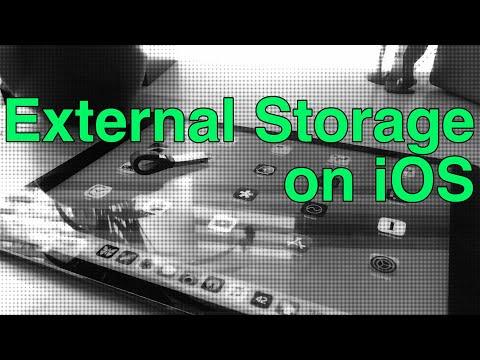 External Storage on iOS (iPhone & iPad)