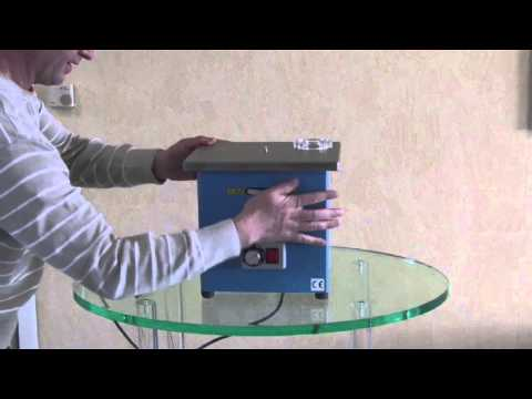 How to debur acrylic with a chamfering machine *** Konturentgrater