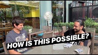 An Impossible Card Trick ft Dhruv Rathee | Karan Singh Magic