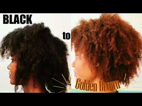 Black to Light Golden Brown | How I Dyed My Hair