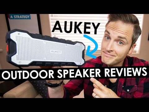 Wireless Outdoor Speaker Reviews — Aukey Bluetooth Speaker Review
