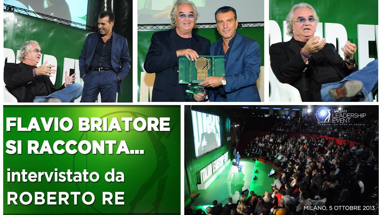 Bellissima intervista di Roberto Re a Flavio Briatore - 2013
