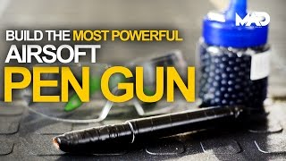 How to make a pen gun