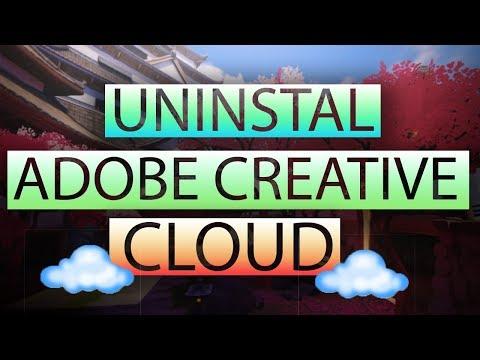 Uninstall Adobe Creative Cloud on Window 10