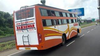 राजस्थानी वीडियो- मारवाड़ री याद RAJESHAWAR BUS - SARSWATI BUS RACE & BULLET RACE मारवाड़ी रक्षाबंधन