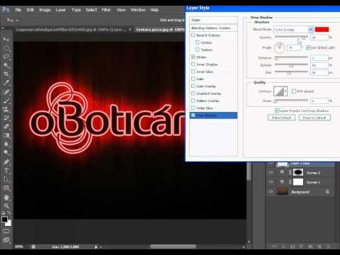 Efeito Neon no Photoshop CS6