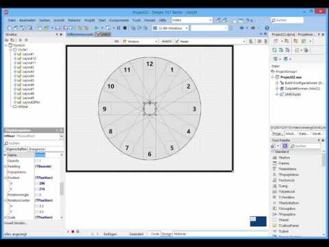 Building an Analog Clock program with only 3 lines of code with FireMonkey