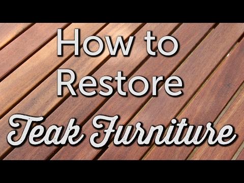 How to Restore Teak | DIY Patio Maintenance and Repair