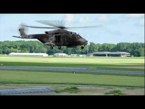 NH-90 Helicopter animation - 40 Squadron - Koksijde Airbase.mpg