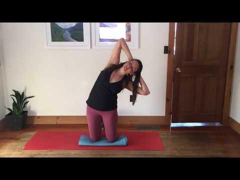 Broken Leg Yoga: Wall Workout 30 Minutes