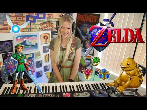Lara plays the ENTIRE Zelda Ocarina of Time soundtrack on piano