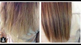 وصفة رهيبة للتخلص من الشعر المتقصف والجاف ((مجربة ومضمونة😍))