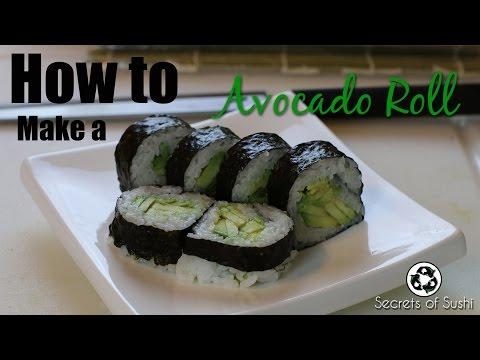 How to Make Avocado Sushi