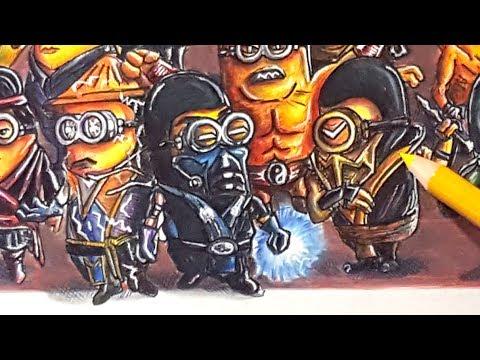 If Minions were Mortal Kombat Characters
