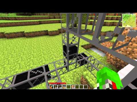 Minecraft Technic Pack - Custom Sized Quarry