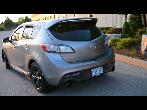 2013 Mazdaspeed 3 Walkaround and Mod List