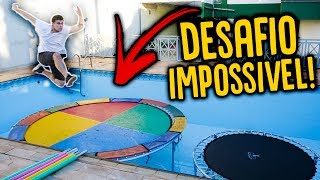 DESAFIO IMPOSSÍVEL DA CAMA ELÁSTICA !!! [ REZENDE EVIL ]