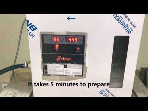 Prime sodium hypochlorite generator