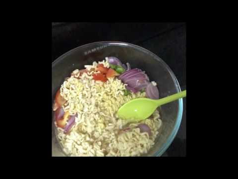 Midnight noodles using Microwave oven
