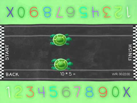 Learn Times Tables For Kids Android - Animal Race