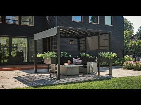 New Patio Furniture, Modern Gazebos & Outdoor Decorating Trends For 2018