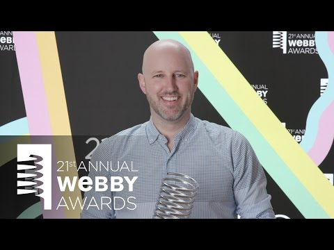 Working Not Working's 5-Word Speech at the 21st Annual Webby Awards