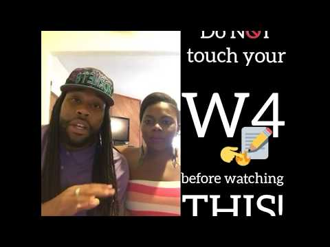 Do NOT Change Your W4 Before Watching THIS!