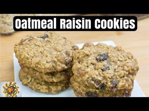 Oatmeal Raisin Cookies | Tasty Oatmeal Raisin Cookies |  Healthy Cookies Recipe