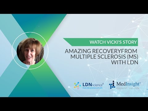 Amazing Recovery from MS with LDN