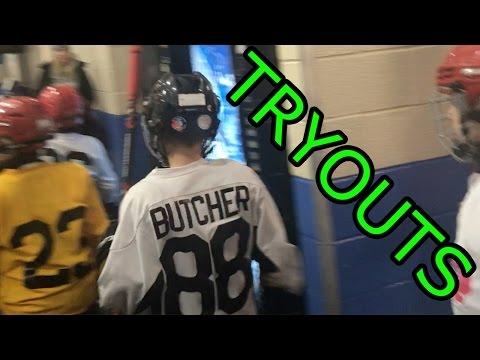 Kids HocKey  Crazy hockey tryouts for Triple AAA Team