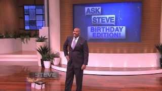 Ask Steve: I want a kiss!