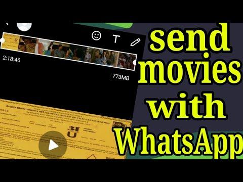 Send movies with WhatsApp ( Hindi ) root
