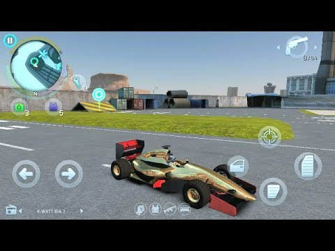 Gangstar Vegas Limited GL Series Gold Car With Gladitors