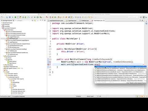 Page Objects Design in Selenium Cucumber Video-10