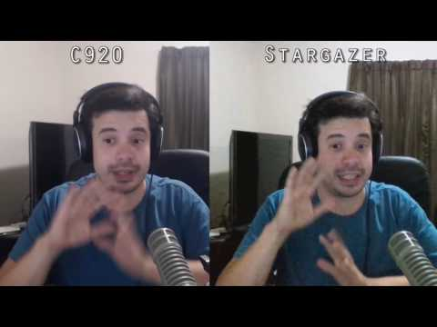 Razer Stargazer VS Logitech C920 - 60FPS and Background Removal