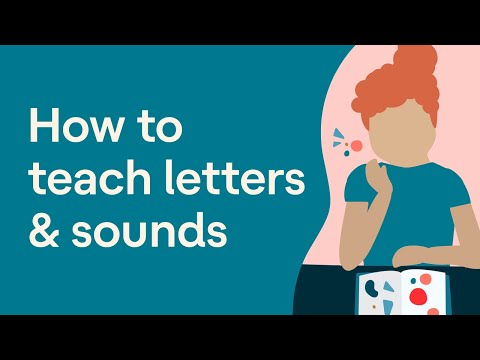 Teaching Letters and Sounds in a Fun Phonics Lesson
