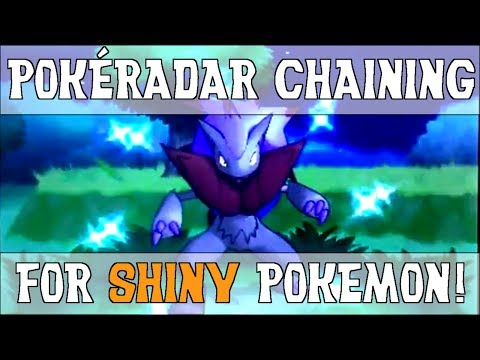 PokéRadar Chaining for Easy Shinies! - Shiny Hunting Guide - Pokemon X and Y
