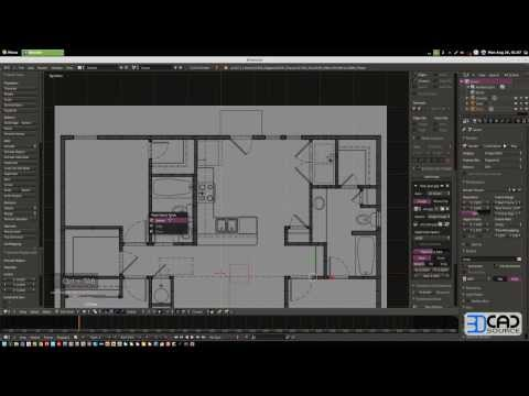 House modeling in Blender 2.67 Quickly - Using loopcuts