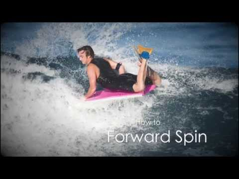 How To Do A Forward Spin (Threesixty, 360) - Bodyboard Lessons from Bodyboard-School