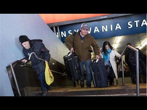 Broken Penn Station Escalator Can Mean a Tough Climb