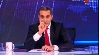 باسم يوسف يتلاعب ع طريقته الخاصه في اولي حلقات MBC .. تستحق المشاهدة
