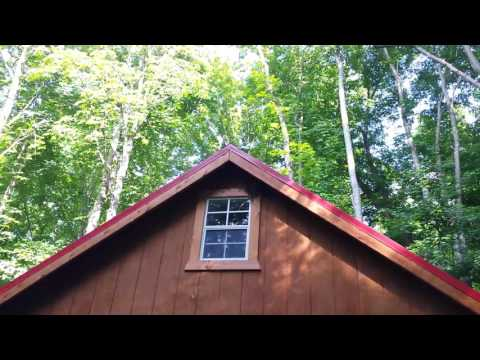 21 Acres with Amish built cabin, Caves, Creek and more in Athens County Ohio