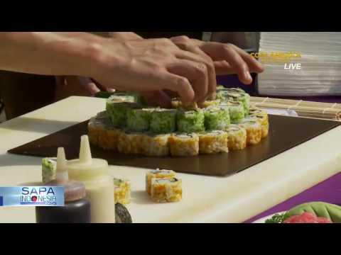 Begini Cara Bikin Sushi Cake (Bag 2)