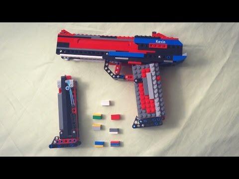 Lego Pistol v2 Working (+Tutorial)
