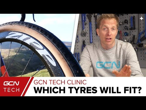 What Are The Widest Tyres You Can Fit On Your Road Bike? | GCN Tech Clinic